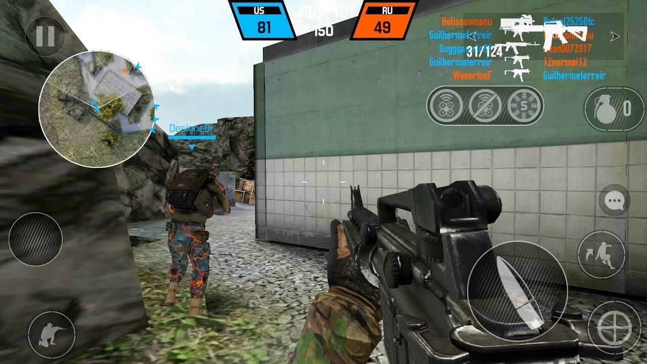 Bullet Force mobile