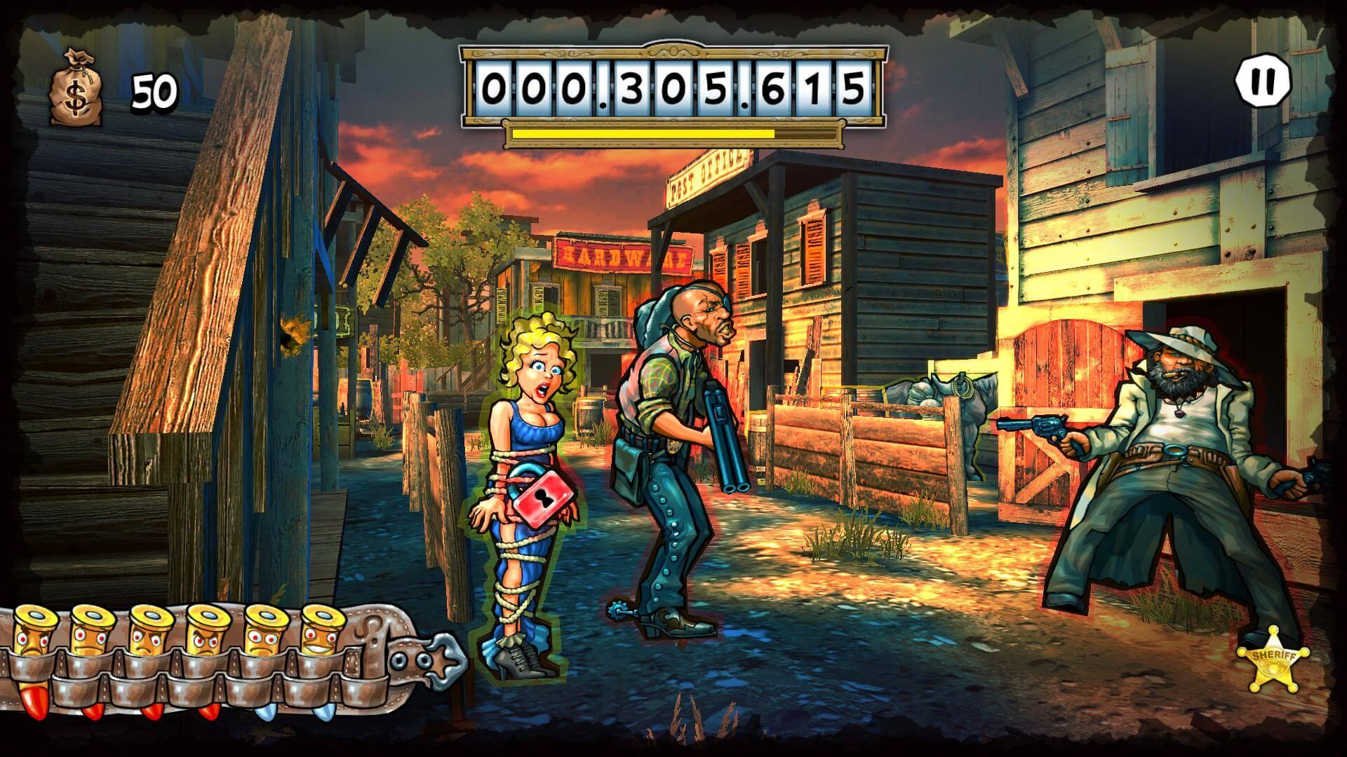 Mad Bullets Cowboy Shooter