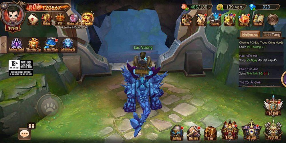 Linh thú trong game Đại Chúa Tể Mobile
