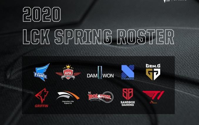 Lịch thi đấu LCK Mùa Xuân 2020 chi tiết update mới nhất