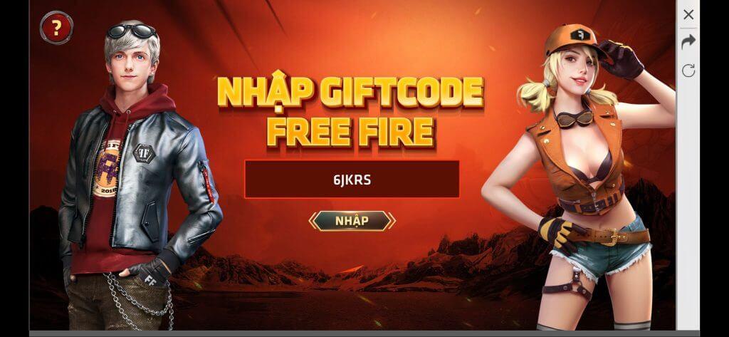 SHARE Gift code FF mới nhất 2020 cho game Free Fire