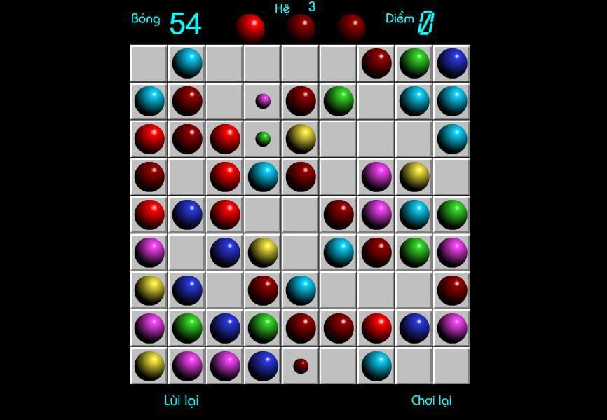 Chơi game Line 98 cổ điển online miễn phí màn hình rộng