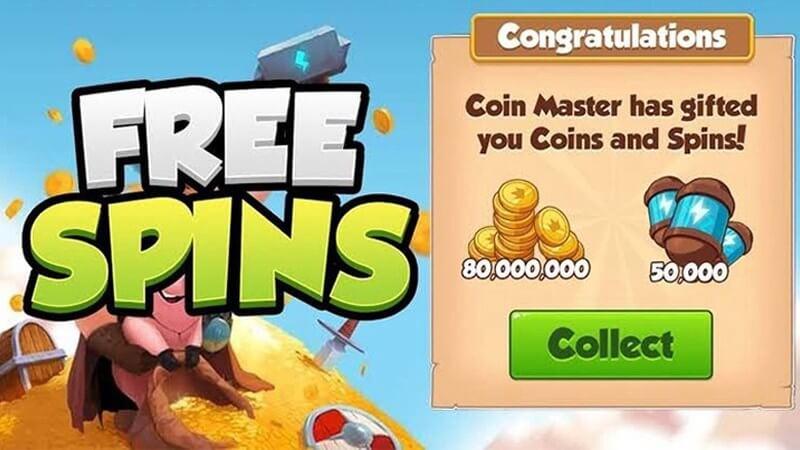 Nhận 1000 lượt spin Levvvel Coin Master miễn phí hàng ngày